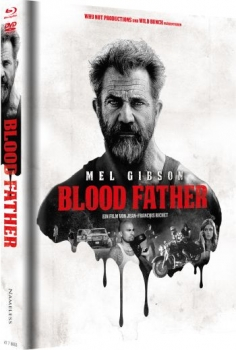 Blood Father - Uncut Mediabook Edition  (DVD+blu-ray) (Cover A - Rot)