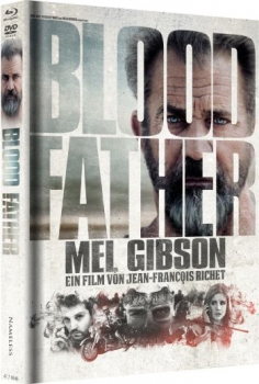 Blood Father - Uncut Mediabook Edition  (DVD+blu-ray) (Cover B - Weiss)