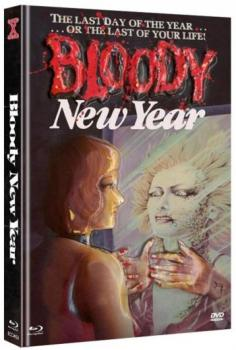 Bloody New Year - Uncut Eurocult Mediabook Collection  (DVD+blu-ray) (C)