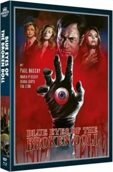 Blue Eyes of the Broken Doll - Paul Naschy - Legacy of a Wolfman  (DVD+blu-ray)