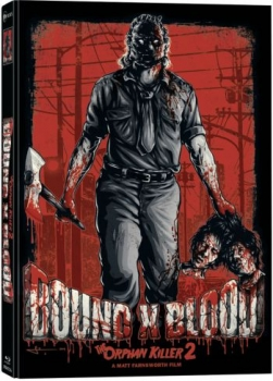 Bound X Blood - The Orphan Killer 2 - Uncut Mediabook Edition  (DVD+blu-ray) (A)