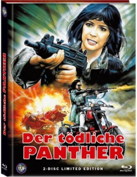 Lethal Panther - Der tödliche Panther - Uncut Mediabook Edition  (DVD+blu-ray) (A)