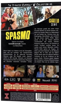 Spasmo - Eurocult Mediabook Collection (DVD+blu-ray) (A)