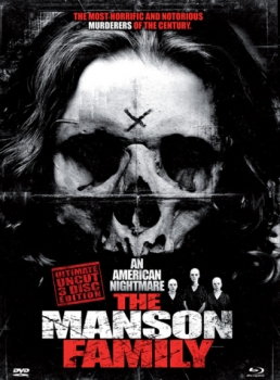 Manson Family - Ultimate Uncut Edition  (DVD+blu-ray)