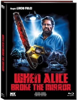 When Alice Broke the Mirror - Uncut Mediabook Edition  (DVD+blu-ray) (B)