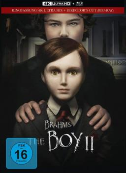 Brahms - The Boy 2 - Limited Mediabook Edition (blu-ray+4K Ultra HD)