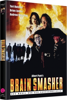 Brain Smasher - Uncut Mediabook Edition  (DVD+blu-ray) (A)