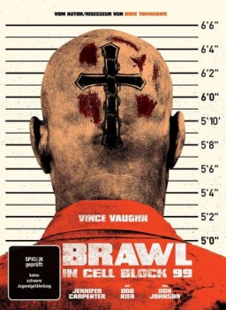 Brawl in Cell Block 99 - Uncut Mediabook Edition  (DVD+blu-ray)