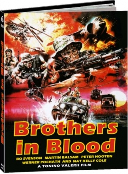 Brothers in Blood - Savage Attack - Uncut Mediabook Edition  (blu-ray) (A)
