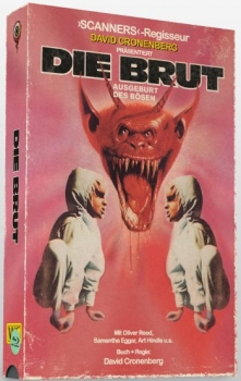Brut, Die - Uncut VHS Design Edition  (DVD+blu-ray)