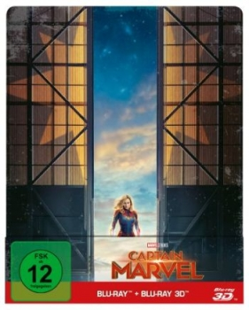 Captain Marvel 3D - Limited Steelbook Edition  (3D blu-ray)