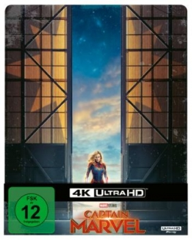 Captain Marvel - Limited Steelbook Edition  (4K Ultra HD)