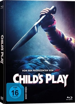 Childs Play - Uncut Mediabook Edition  (DVD+blu-ray)