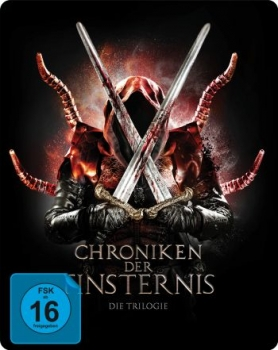 Chroniken der Finsternis - Die Trilogie - Limited Steelbook Edition  (blu-ray)