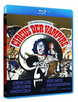 Circus der Vampire - Uncut Edition  (blu-ray)