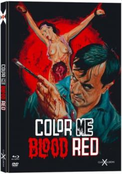 Color Me Blood Red - Uncut Mediabook Edition  (DVD+blu-ray)