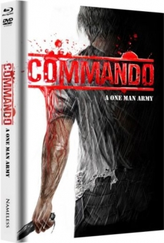 Commando - One Man Army - Uncut Mediabook Edition  (DVD+blu-ray) (D)