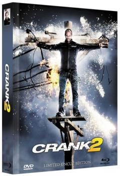 Crank 2 - High Voltage - Uncut Mediabook Edition  (DVD+blu-ray) (B)