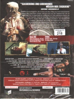 Cross Bearer - The Hammer of God - Limited Collectors Edition (DVD+blu-ray) (C)