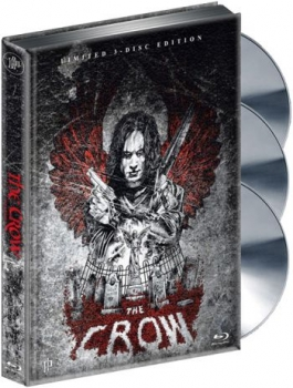 Crow, The - Die Krähe - Limited Mediabook Edition (DVD+blu-ray)
