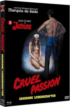 Cruel Passion - Justine - Grausame Leidenschaften - Eurocult Mediabook Collection (DVD+blu-ray) (B)