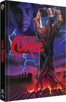 Curse, The - Uncut Mediabook Edition  (DVD+blu-ray)