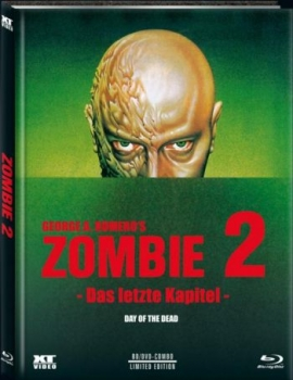 Zombie 2 - Day of the Dead - Uncut Mediabook Edition  (DVD+blu-ray) (A)