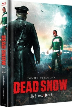 Dead Snow - Red vs. Dead - Uncut Mediabook Edition  (blu-ray) (Cover grün)