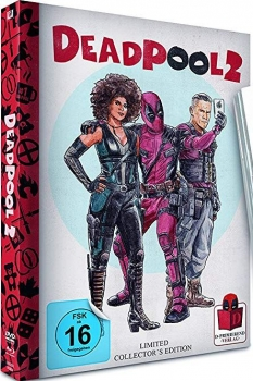 Deadpool 2 - Limited Mediabook Edition (blu-ray)