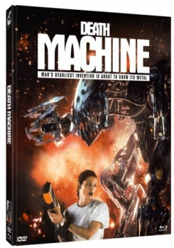Death Machine - Uncut Mediabook Edition  (DVD+blu-ray) (C)
