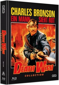 Death Wish 1-5 Collection - Uncut Mediabook Edition  (blu-ray)