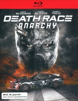 Death Race - Anarchy - Uncut Edition  (blu-ray)