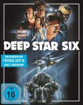 Deep Star Six - Uncut Mediabook Edition  (DVD+blu-ray) (A)