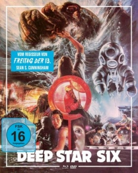 Deep Star Six - Uncut Mediabook Edition  (DVD+blu-ray) (B)