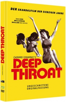 Deep Throat - Uncut Mediabook Edition (DVD+blu-ray)