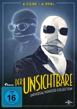 Unsichtbare, Der - Universal Monster Complete Collection