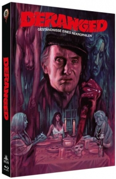 Deranged - Uncut Mediabook Edition  (DVD+blu-ray) (B)