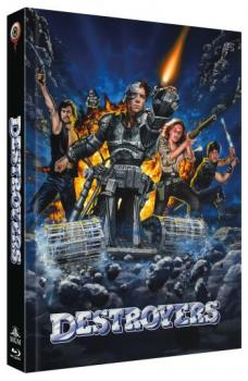 Destroyers - Uncut Mediabook Edition  (DVD+blu-ray) (A)