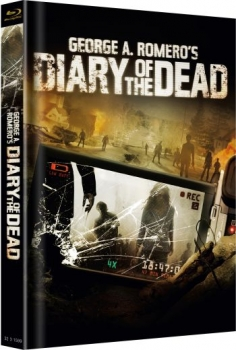 Diary of the Dead - Uncut Mediabook Edition  (blu-ray) (Cover Broken)