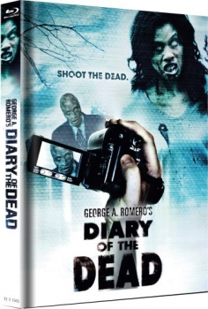 Diary of the Dead - Uncut Mediabook Edition  (blu-ray) (Cover White)