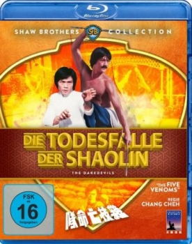 Todesfalle der Shaolin, Die - Shaw Brothers Collection (blu-ray)