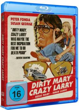 Dirty Mary Crazy Larry - Uncut Edition  (blu-ray)