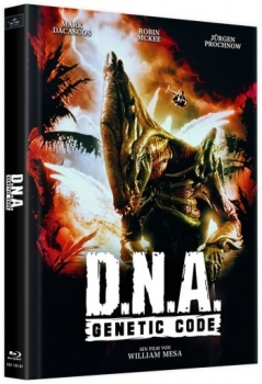 D.N.A. - Genetic Code - Uncut Mediabook Edition (blu-ray) (D)