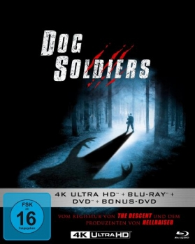 Dog Soldiers - Uncut Mediabook Edition  (DVD+blu-ray+4K Ultra HD)