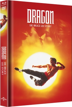 Dragon - Die Bruce Lee Story - Limited Mediabook Edition  (DVD+blu-ray) (Cover Original)