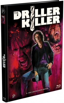 Driller Killer, The - Uncut Mediabook Edition  (DVD+blu-ray)