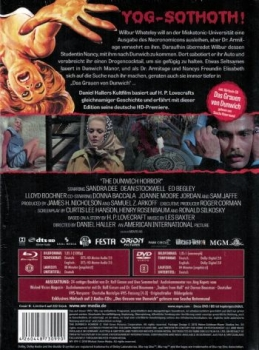 Dunwich Horror, The - Voodoo Child - Uncut Mediabook Edition  (DVD+blu-ray) (B)