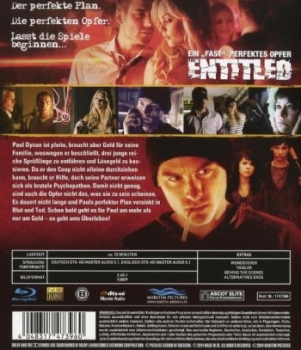 "Entitled, The - Ein ""fast"" perfektes Opfer  (blu-ray)"