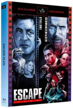 Escape Plan - Uncut Mediabook Edition  (blu-ray) (Astro)