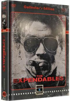 Expendables, The - Uncut Extended Mediabook Edition  (DVD+blu-ray) (Cover B - Retro)